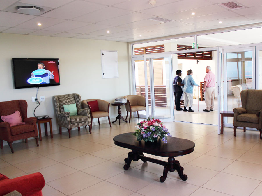 Twilanga Care Centre Communal TV Lounge